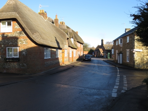 Higher Street, looking towards the village centre