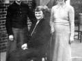 100 The teachers 1940,s Head Mrs Graham,seated.L-R Miss C. Wilkinson, Mr. Smales, Mrs A. Collinson