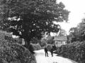 53 Crow Cross corner of Darknoll Lane, 1920's Policeman is P.C. Lillington